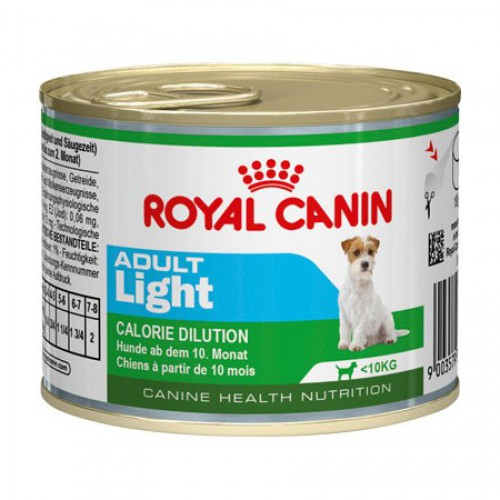 Royal Canin  ADULT LIGHT (ЭДАЛТ ЛАЙТ) мусс 195г