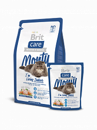 BRIT Care Cat Monty Indoor для кошек живущих в доме 400г