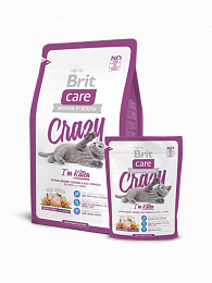 BRIT Care Cat Crazy Kitten для котят 400г